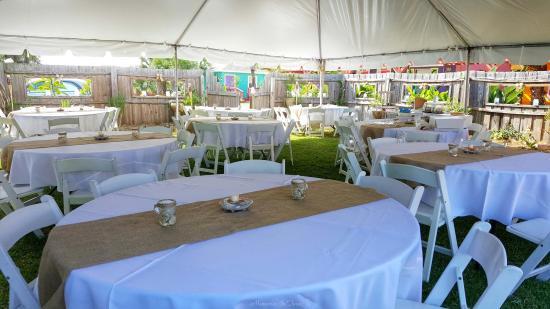 Flagler Beach, FL: Amazing wedding venue- lots of room