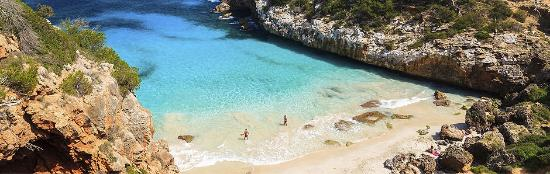 Majorca, Spain: Baai geluk. Mallorca