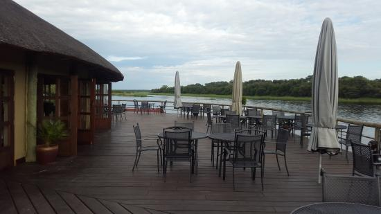 Rundu, Namibia: View from dining deck