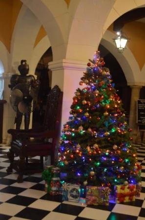 Caribe Hotel: Hall à Noël