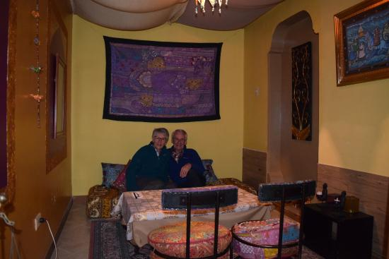 Indian Palace: Our private dining room