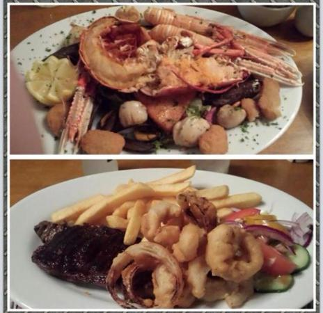 Alness, UK: Seafood Platter - Customer Picture