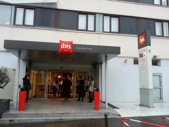Ibis hotel main entrance picture of ibis paris porte d 39 italie gentilly tripadvisor - Ibis porte d italie hotel ...
