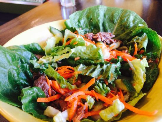 Turners Falls, MA: Asian Lettuce Wrap