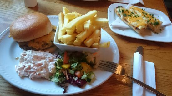 Banchory, UK: Late Lunch