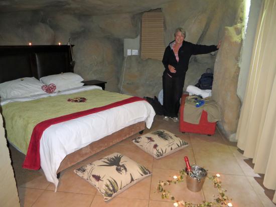 Kagga Kamma Private Game Reserve, Sudáfrica: bed room