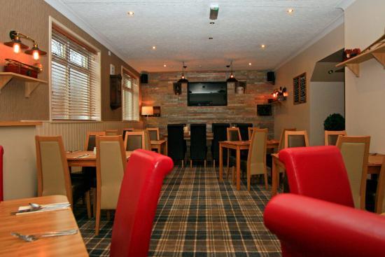 Lockerbie, UK: Restaurant Area