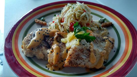 Maximo Seafood Shack: Fresh Caught Grouper Special