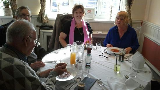 "The Gate Inn: Facebook ""Goldies Wales Over 50's"" lunch meet."