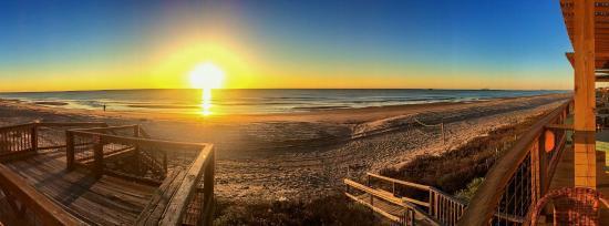 เซิร์ฟไซด์บีช, เท็กซัส: Beautiful sunrise