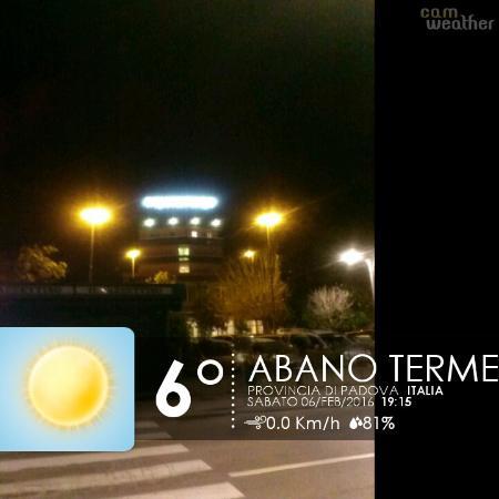 Hotel Abano Terme Cristoforo: serale