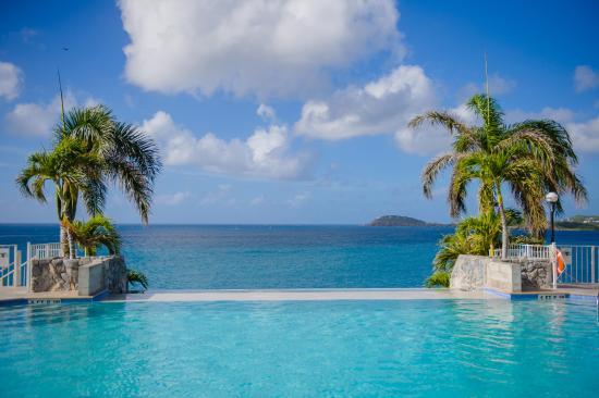 Frenchman S Reef Morning Star Marriott Beach Resort Infinity Pool View