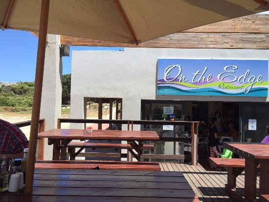 Betty's Bay, Republika Południowej Afryki: Het terras.
