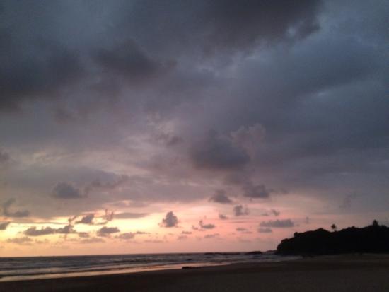 Μπεντότα, Σρι Λάνκα: tramonto