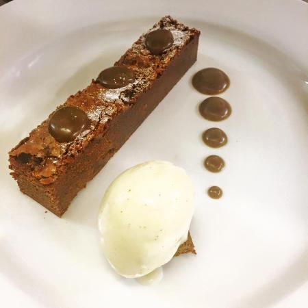 Fowey, UK: Chocolate Fudge Brownie
