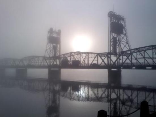 Stillwater, MN: Morning fog