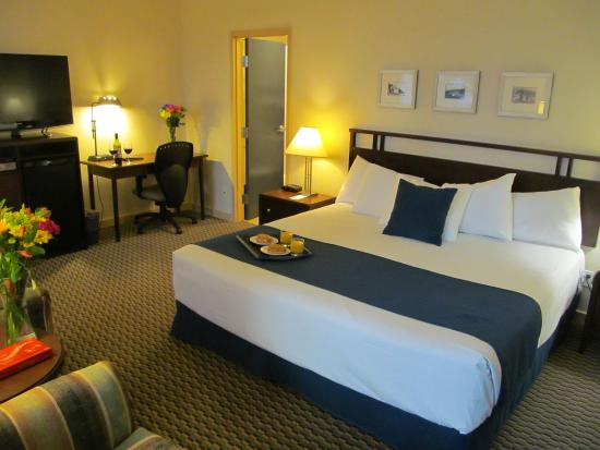 White Rock, Canada: Deluxe King Room