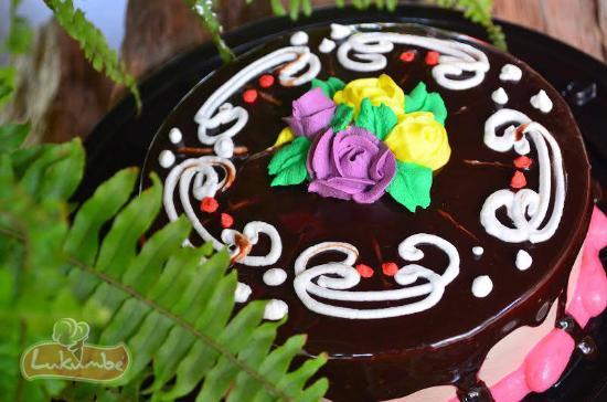 Lukumbe: Pastel de chocolate en restaurant café lukumbé puerto vallarta