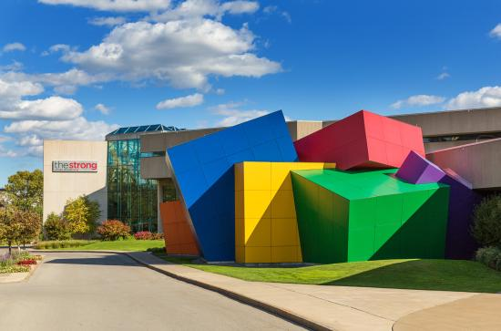 Rochester, Nova York: The Strong National Museum of Play