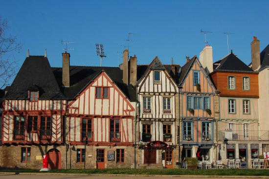stadszicht picture of vannes morbihan tripadvisor. Black Bedroom Furniture Sets. Home Design Ideas