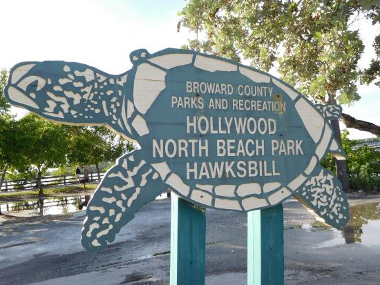 Hollywood North Beach Park Pocket Entrance