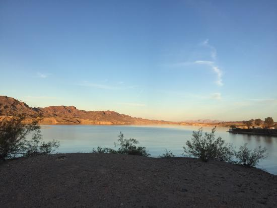 Lake Havasu City, AZ: Sunrise at cattail cove Dog beach
