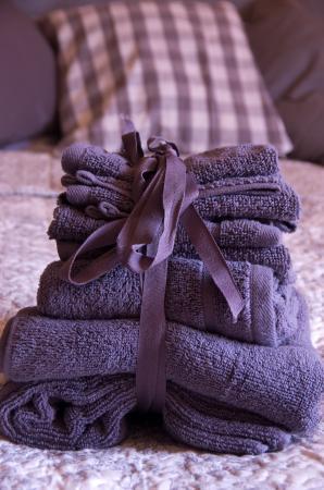 Saint-Antonin Noble Val, Γαλλία: luxury towels