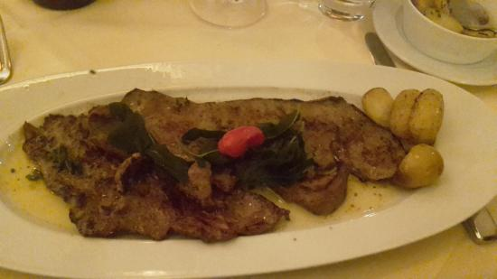 Casa Di Roma: Kalbsleber mit Kartoffeln