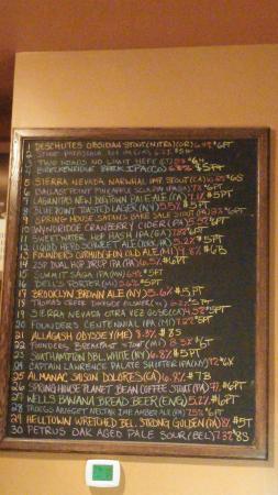 York, Pensilvania: rotating tap menu - something for everyone