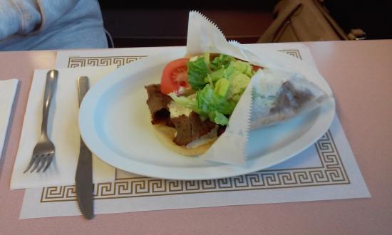 Altoona, PA: My original Gyro Sandwich