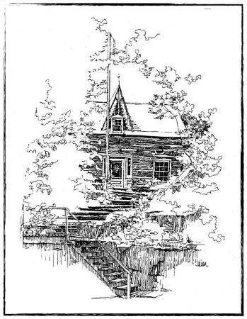 Cantley, Kanada: Drawing of Le Chalet Buckhouse
