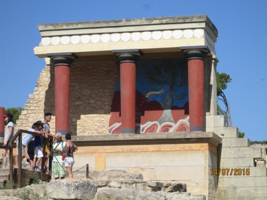 Le Palais de Cnossos : Изображение Минотавра