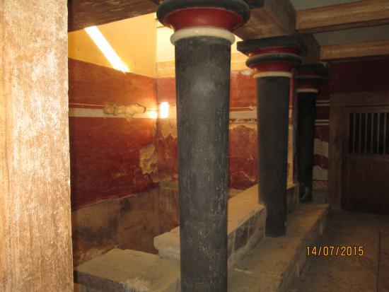 Le Palais de Cnossos : Залы дворца