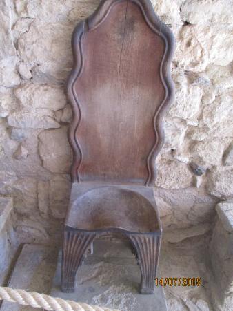 Le Palais de Cnossos : Трон царицы