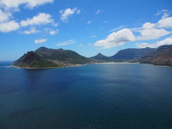 Западно-Капская провинция, Южная Африка: View of Hout Bay from lookout