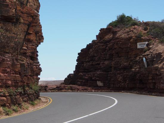 Western Cape, África do Sul: Chapman Peak road