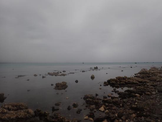 Kaikoura Peninsula Walkway: the coastal walk on a gloomy day