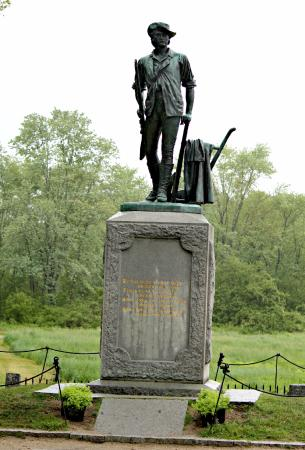 Concord, MA: The monument at the park