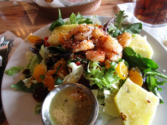 Crowley, Louisiane : Caribbean Salad with Shrimp
