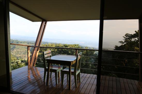 Naranjo, Costa Rica: Balkon