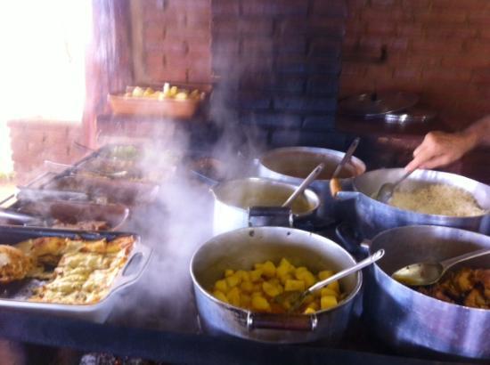 Parque Restaurante Pedra do Navio: Forno à lenha do restaurante Pedra do Navio