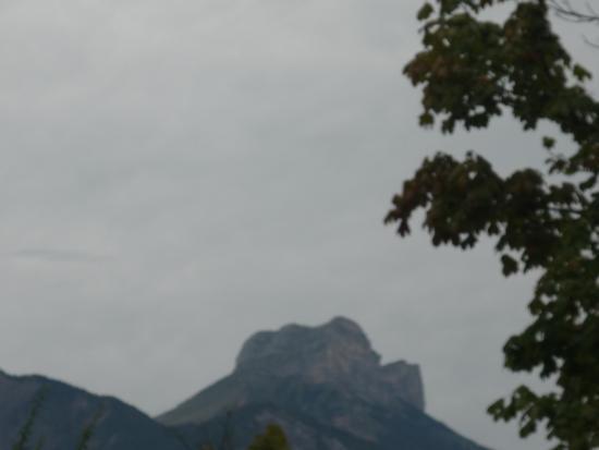 Appart'City Confort Grenoble Inovallée : vue de la chambre