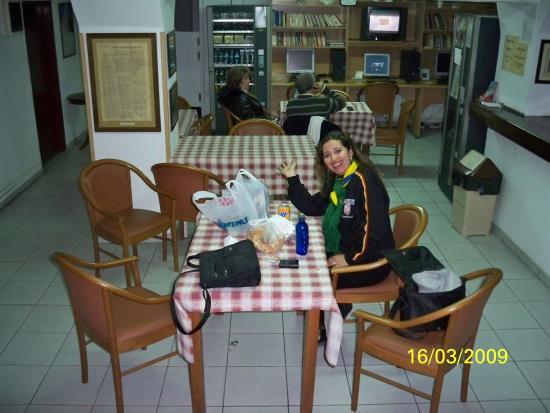 Hotel Fivos: lugara para refeições