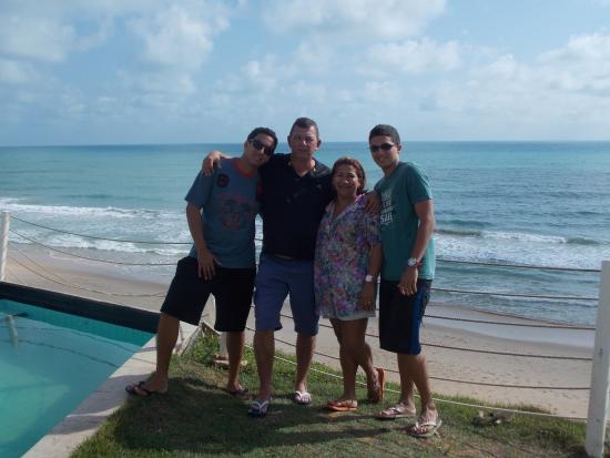 Aram Natal Mar Hotel: Vista da praia da área da piscina