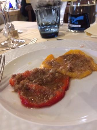 Paprika met bagna cauda - Picture of Il Giardinetto, Sessame ...
