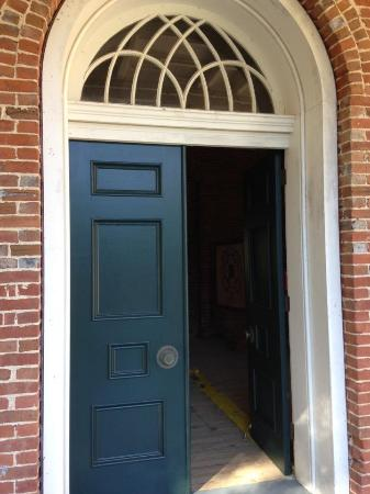 Natchez, MS: Front door at Longwood