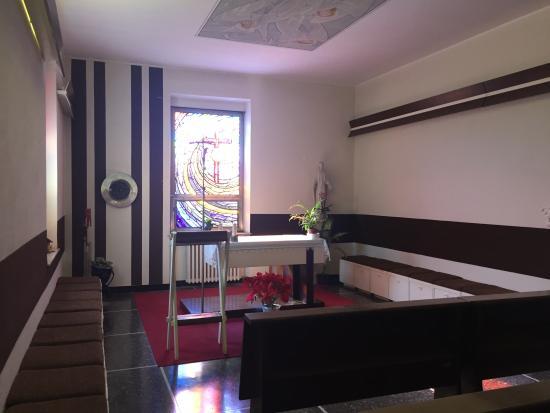 Villa Pozzi: La Cappella