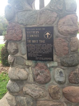 Queenston, Canada: Southern Most Terminus of the Bruce Trail