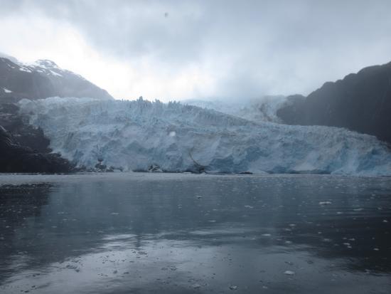 Seward, AK: calving glacier