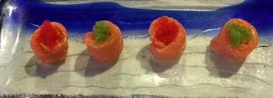 Pooler, GA: Salmon with caviar!